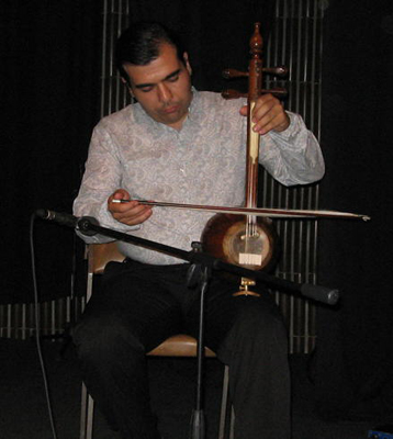 Persian Spike Fiddle, Kamanche